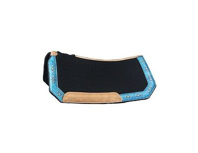 Tough-1 Saddle Pad Trinity Belt Buckle Bling Crystal 28 x 30 31-7715