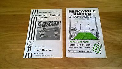 1960s Newcastle Reserves x 2