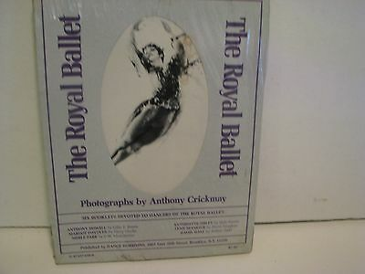 THE ROYAL BALLET  photographs by ANTHONY CRICKMAY   6 BOOKLETS  SEALED