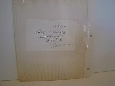 Isaac Asimov - Autograph Note Signed  1991