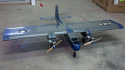 Twin Engine Sport Plane/Trainer Plans, Templates, Instructions