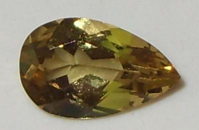 .98ct Valuable Natural Tanzanian Gold To Gold Green C/S Chrysoberyl Pear