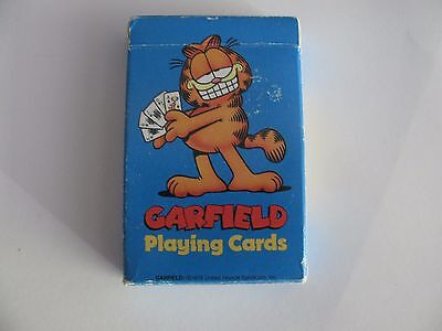 Vintage 1978 Garfield Deck Of Playing Cards