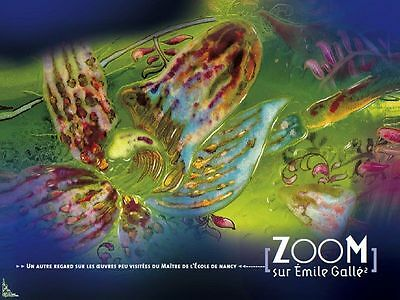 Zoom on Emile Gallé Vol.2, French book by Denise Bloch