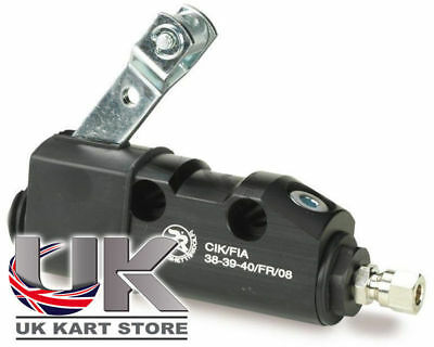 Righetti Brake Pump / Master Cylinder Complete Black UK KART STORE