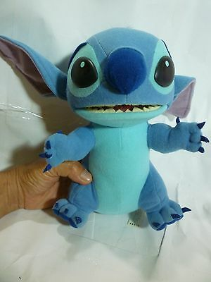 Disney Stitch 2 in 1 Switchin Talking Plush-- 10 InTall --PreOwned & Very Clean