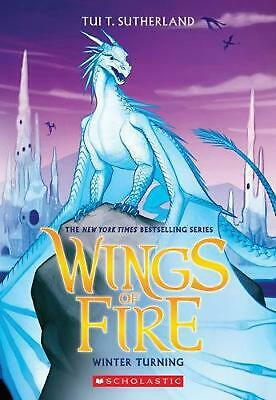 Wings of Fire #7: Winter Turning by Tui T. Sutherland (English) Paperback Book F
