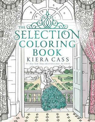 Selection Coloring Book by Kiera Cass (English) Paperback Book Free Shipping!