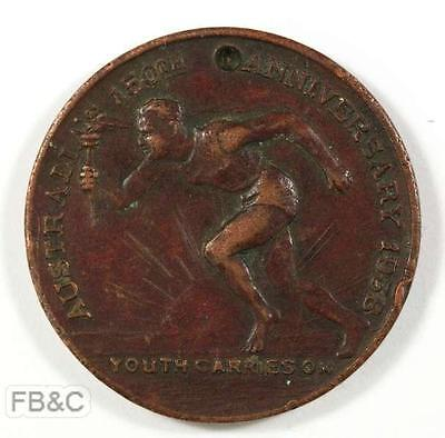 1938 Medal Commemorating Australia's 150th Anniversary - Made by Amor