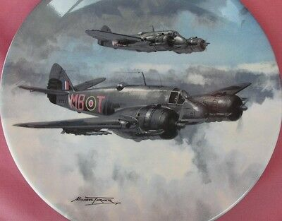 Coalport Coastal Mission Beaufighter Raf Plate Reach For The Sky Michael Turner