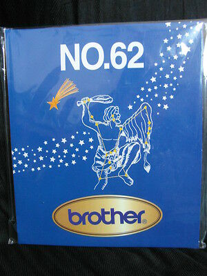 Brother / Babylock Embroidery Design Card Number 62 New And Sealed
