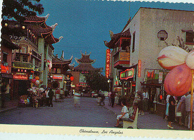Alte Ansichtskarte USA Los Angeles Chinatown