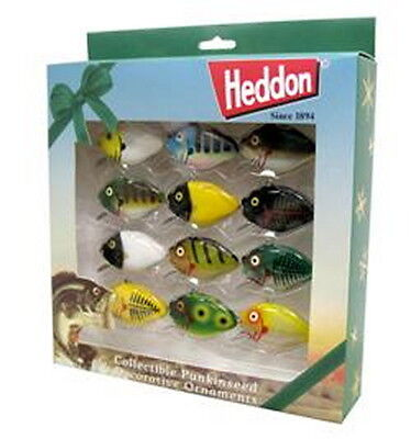 New Heddon  Punkinseed  Colectors  Edition Set, Christmas Ornament Lures