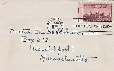 (90346) CLEARANCE USA FDC Smithsonian Institure - 10 August 1946