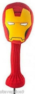 New Marvel Official Iron Man Golf Driver Cover.