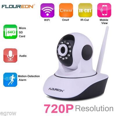 Sricam 1.0MP TELECAMERA IP CAMERA HD 720P WIRELESS LED IP CAM MOTORIZZATA WIFI
