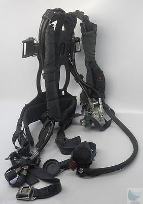 Survivair Panther Self-Contained Breathing Apparatus w Harness SCBA NFPA 2002 Ed