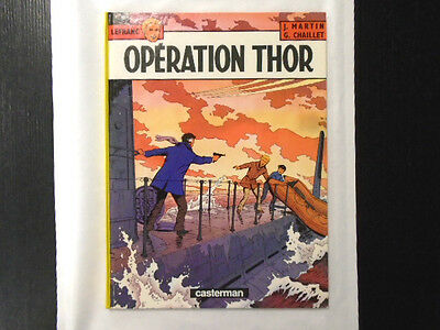 Jacques Martin / Lefranc T6 Operation Thor Tbe