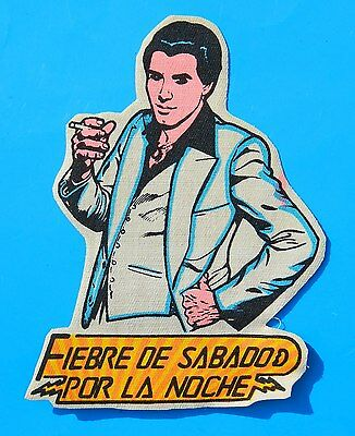 Vintage & Rare Saturday Night Fever Staying Alive John Travolta Mexican Patch