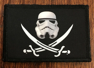 CALICO JACK Stormtrooper Morale Patch Tactical Military Flag Army USA SEAL