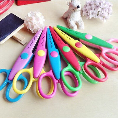 6 x Design Decorative Edge Craft Scissors DIY for Scrapbook, Kids Artwork, Cards
