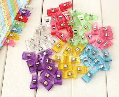 20 x Wonder Clips For Patchwork Sewing DIY Craft, Quilt Quilting - mixed colors