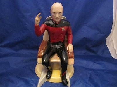 Very Rare Kevin Francis Prototype Toby Jug Captain Jean Luc Picard