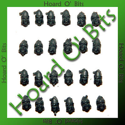 SPANISH CAVALRY BITS - 24x POINTY HELMET HEADS - Wargames Factory
