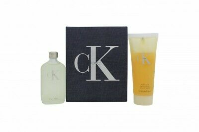 Calvin Klein Ck One Gift Set 50Ml Eau De Toilette (Edt) + 100Ml Body Wash. New