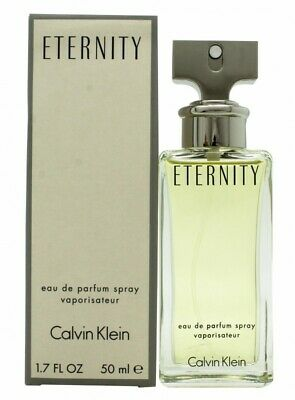 Calvin Klein Eternity Eau De Parfum 50Ml Spray - Women's For Her. New