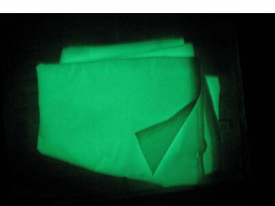 Glow in the Dark Fabrics - Fat Quarter - 10 Different Colours