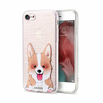 Shockproof Hybrid Rubber TPU Phone Case Cartoon Cover For iPhone 5S 6s 7 Plus