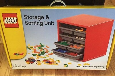 Lego Storage & Sorting Wooden/ Plastic Unit BRAND NEW & VERY RARE