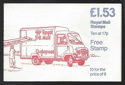 Great Britain 1985 £1.53 Royal Mail booklet SG# FT4 NH