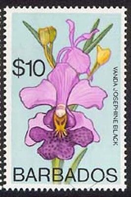 Barbados 1974 Orchids set Sc# 396-411 NH