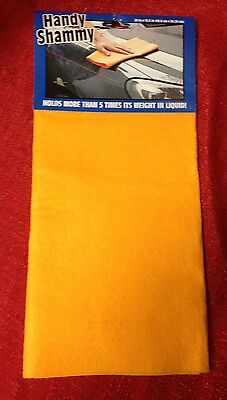 Shammy Absorbent Cloth Car Pet Drying 5 X Its Weight 20x13 Brand New