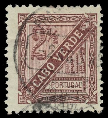 "CAPE VERDE P1 (Mi24A) - Numeral of Value ""Newspaper Postage"" (pa16621)"