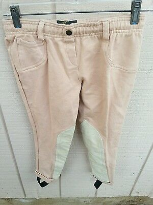 NWT TRAINER'S CHOICE Legend Low Rise Jods Kids Pull On Riding Jodhpurs Pants Tan