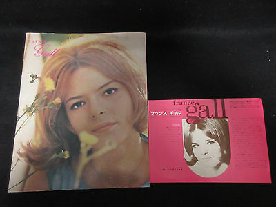 France Gall 1966 Japan Tour Book Concert Program w Flyer Ye Ye Serge Gainsbourg