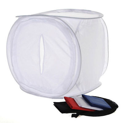 50cm / 80cm Photo Photography Studio Light Tent Soft Box Cube with 4 backdrop AU