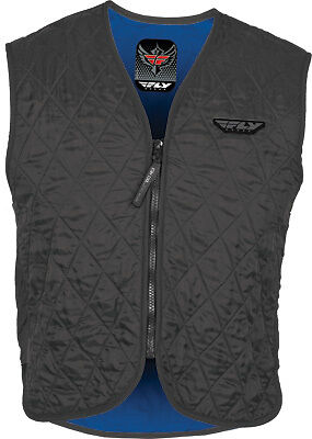 FLY STREET Motorcycle Hydration Cooling Vest - Black/ Size Small-3XL