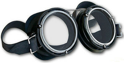 Steampunk Goggles, Gothic Industrial Goggles, Swiss Motorcycle Goggles