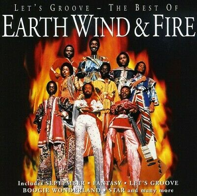 Earth, Wind & Fire - Let's Groove The Best Of [New CD]