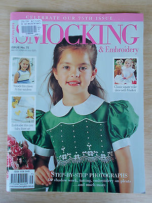 Australian Smocking & Embroidery #75~Dresses~Baby Outfits~Duckling~Cuddle Rug