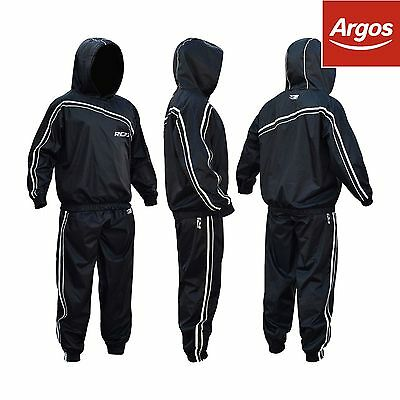 RDX Nylon Large Sauna Sweat Suit - Black. From the Official Argos Shop on ebay