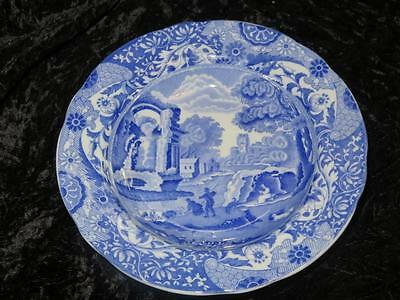 "Vintage Copeland ""Spode's Italian"" Blue & White Soup or Dessert Bowl 1921 Exclnt"