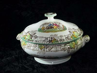 "VINTAGE CHINA Copeland ""Spode's Byron"" 8 Inch Serving Tureen with Lid"