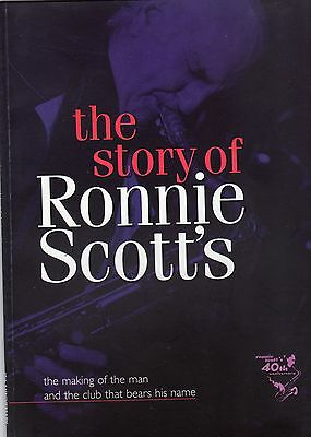 """Vintage Jazz Music Book """" The Story Of Ronnie Scott's """""""