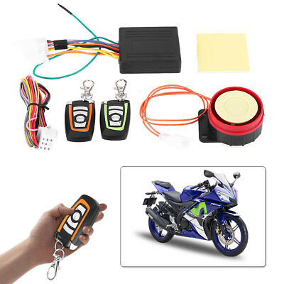 Motorcycle Motorbike ABS Anti-theft Security Alarm System Remote Control