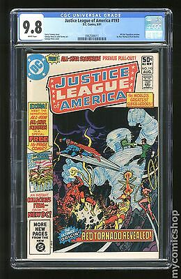 Justice League of America (1960 1st Series) #193 CGC 9.8 (0962588011)